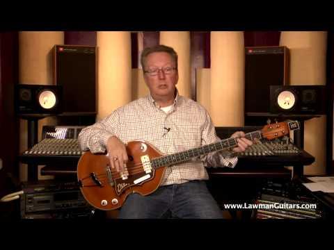 The Bass Guitar - 1965 EKO 995 Violin Beatle Bass (515) 864-6136