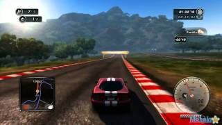 Test Drive Unlimited 2 Walkthrough - A3 A2 License - Circuit