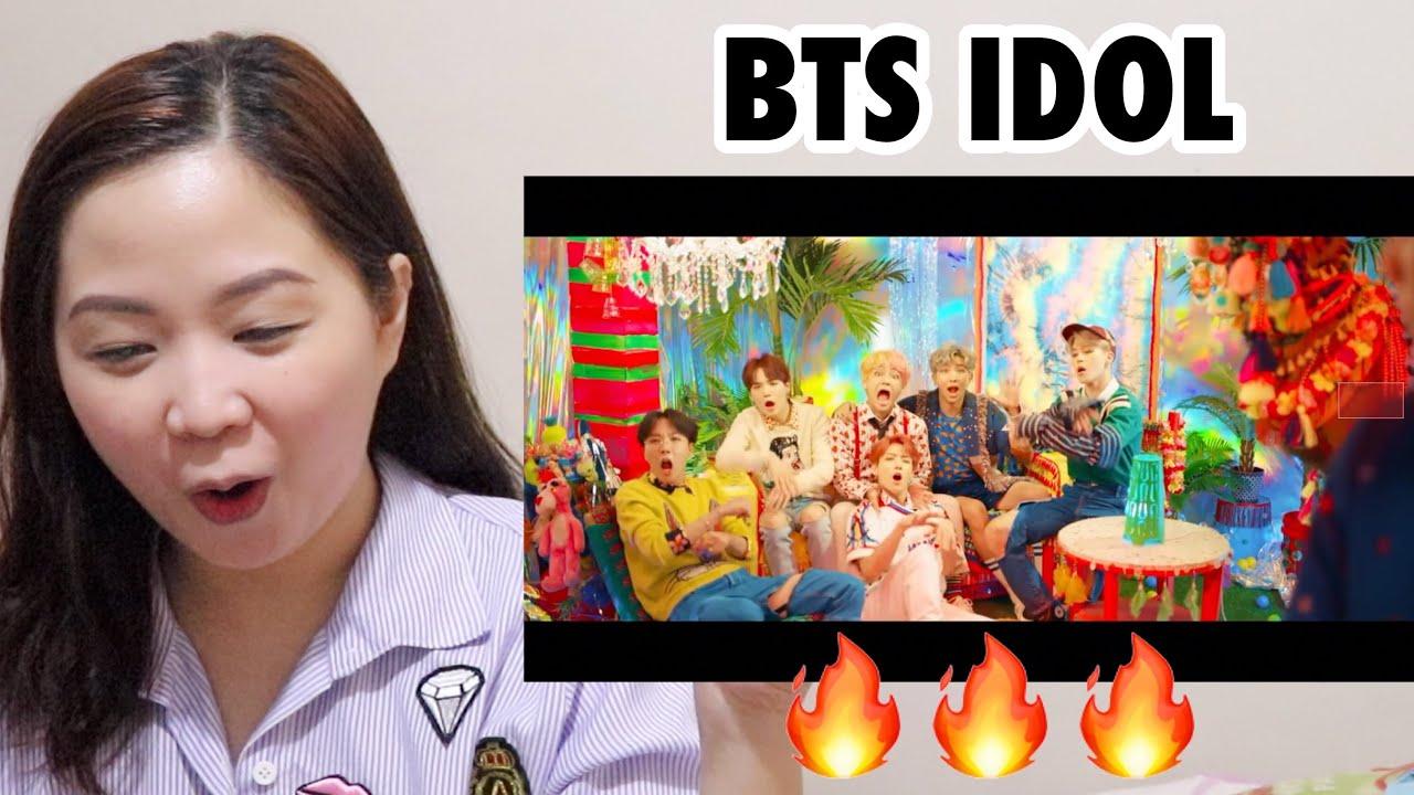 Bts Idol Official Mv Reaction Video