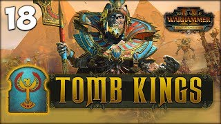SETTRA'S SECOND BOOK ! Total War: Warhammer 2 - Tomb Kings Campaign - Settra #18