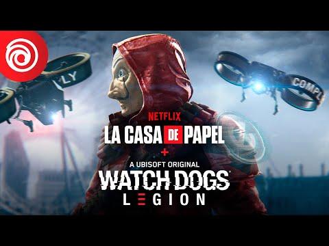 WATCH DOGS: LEGION - عرض إطلاق LA CASA DE PAPEL