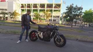 Мотоцикл Retro Fighter 2017. Ретро мотоцикл. Мототюнинг.