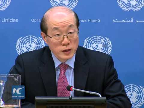 China's UN ambassador: Security Council mulls response to North Korea's missile launch