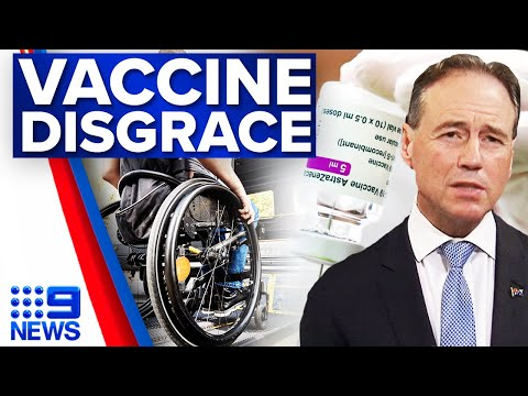 Concern over vaccinations for people with disabilities | coronavirus | 9 News Australia
