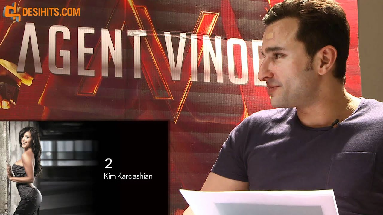 Saif ali khan in agent vinod