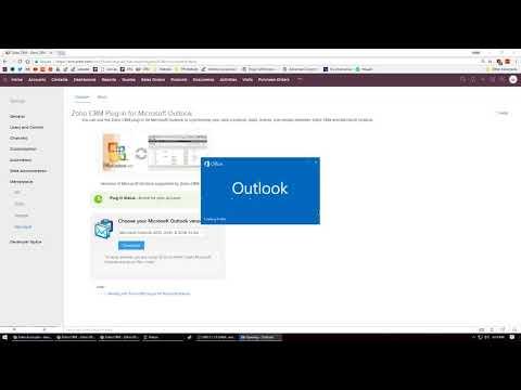 Zoho Outlook Plugin Tutorial