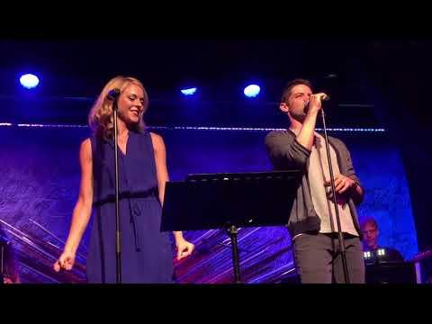 """Jeremy Jordan & Ashley Spencer @ Sony Hall """"90's Throwback Medley"""""""