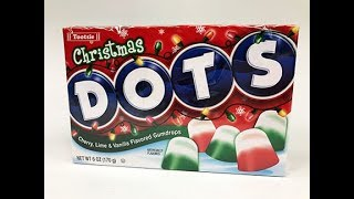 Christmas DOTS Candy Unwrapping
