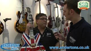 NAMM 2014 - The Gibson Stand 1 - Kramer and Epiphone