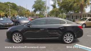 Autoline Preowned 2010 Buick LaCrosse CXS For Sale Used Walk Around Review Test Drive Jacksonville