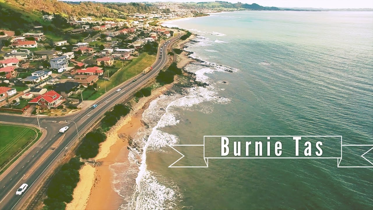 first day in tasmania checking out burnie love it youtube