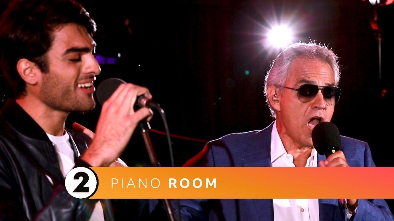Andrea & Matteo Bocelli - Fall On Me (Radio 2 Piano Room)