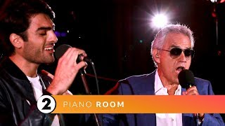 Andrea & Matteo Bocelli - Fall On Me (Radio 2 Piano Room)