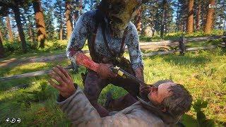 Red Dead Redemption 2: Psycho Bandit - Funny Brutal & Random Gameplay Moments - Vol.13