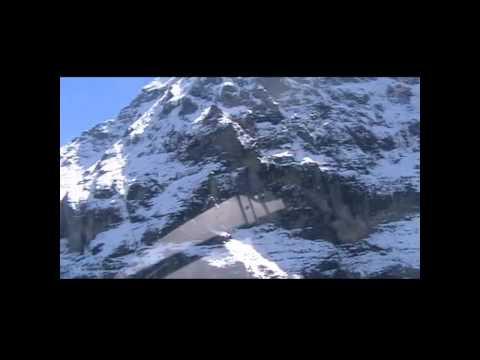 Heliflug zur Eigernordwand