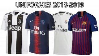 Uniformes De Futbol 2018 Europeos