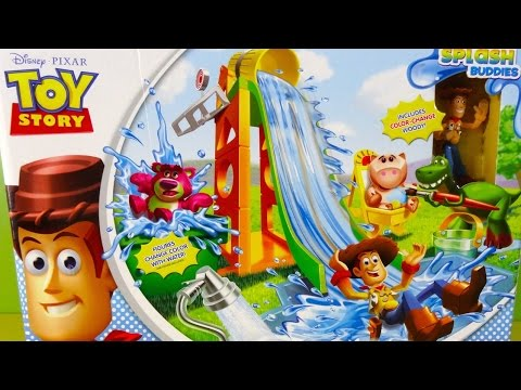 Toy Story Changes Colour Slide n Surprise Playground Color Splash Buddies - Juguetes de Disney