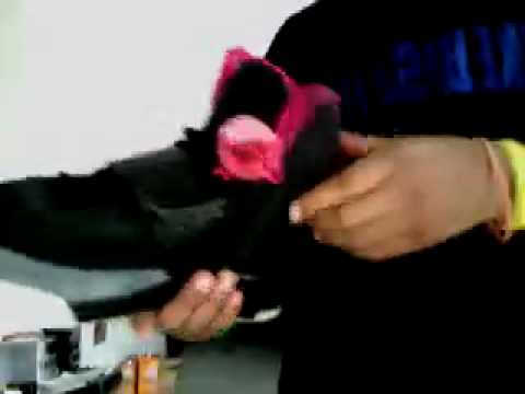 3009dce606d39 How to tell difference between fake and real Yeezys - YouTube
