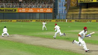 One-OFF Test - Day 2 Afghanistan vs Bangladesh Hardcore mode Real Cricket 19 Full Test match Gamepla