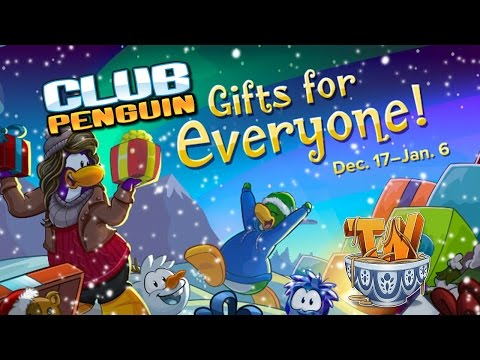 Club Penguin : Holiday Party 2015 Walkthrough