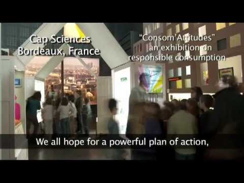 Science centres and museums: Public partners in Rio+20