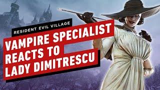 Resident Evil Village: lo specialista rumeno di vampiri reagisce a Lady Dimitrescu