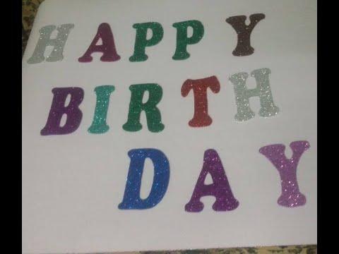 Happy Birthday بالفوم Youtube