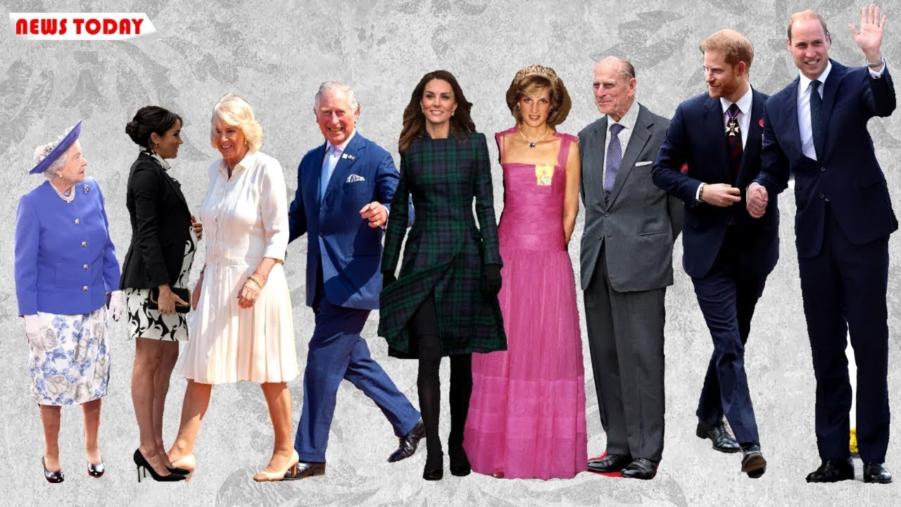 How Tall Are The Royal Family Kate Meghan Harry Even