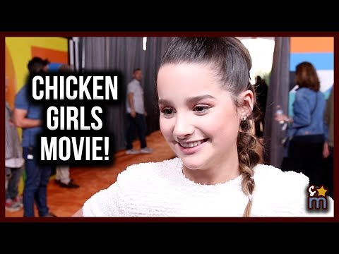 "Annie LeBlanc Teases CHICKEN GIRLS Movie & Sings Camila's ""Havana"" at Kids' Choice Awards 2018"