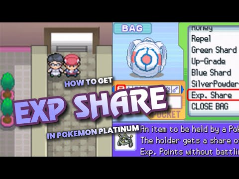 How To Get EXP Share In Pokemon Platinum