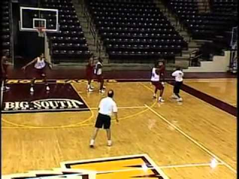 Gregg Marshall Match-Up Zone Defense - Back Line Drill