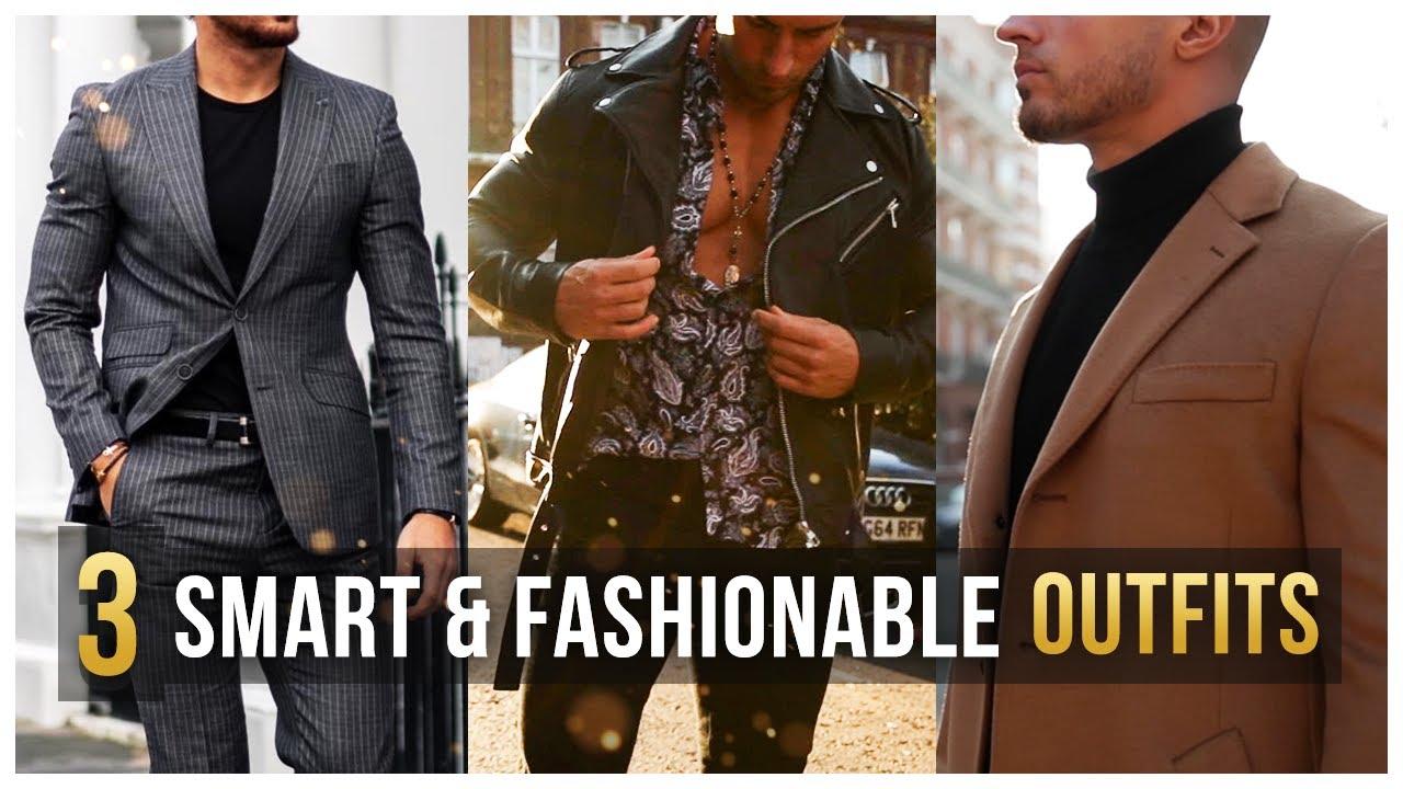 3 Stylish Outfits For Fall/Winter Feat. Rowan Row | Men's Fashion