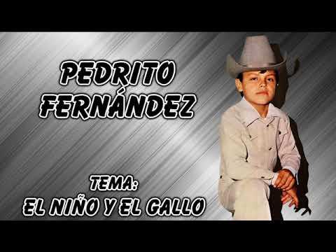 Pedrito Fernández El Niño Y El Gallo Youtube