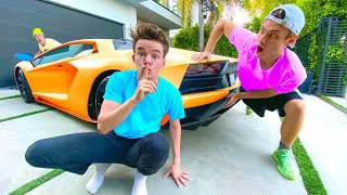 Last to Get Caught At Carter's House Wins - Challenge