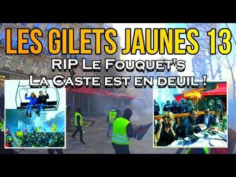ADBK : Les Gilets Jaunes 13 - RIP Le Fouquet's, la Caste est en deuil !