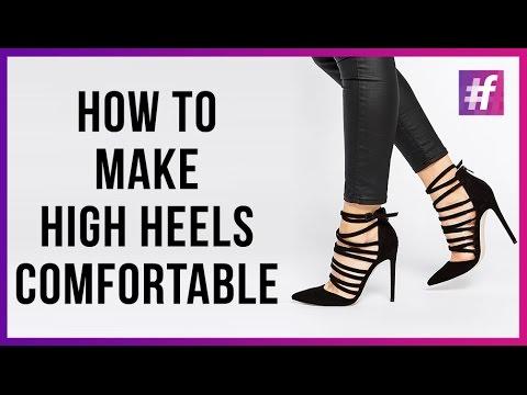 6 Tricks to Make High Heels more Comfortable - #fame Fashion - 6 Tricks To Make High Heels More Comfortable - #fame Fashion - YouTube