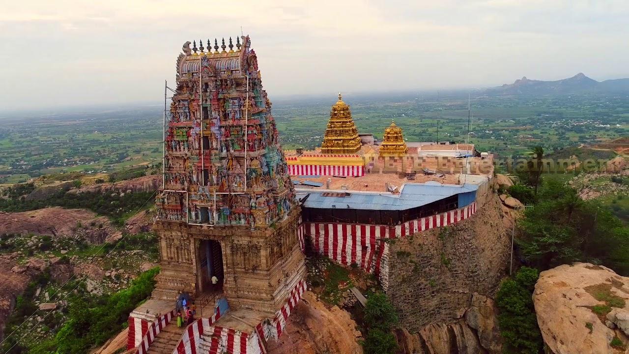 Sholinghur Narasimha Swamy Temple part 2   சோளிங்கர் யோகநரசிம்ம பெருமாள்  கோவில்   HejeEntertainment, - YouTube
