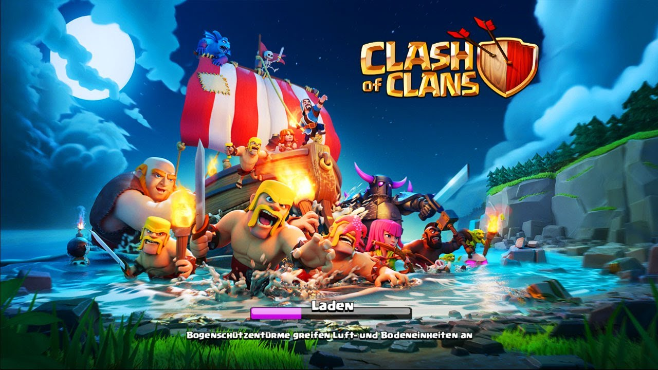 Clash Of Clans Buch