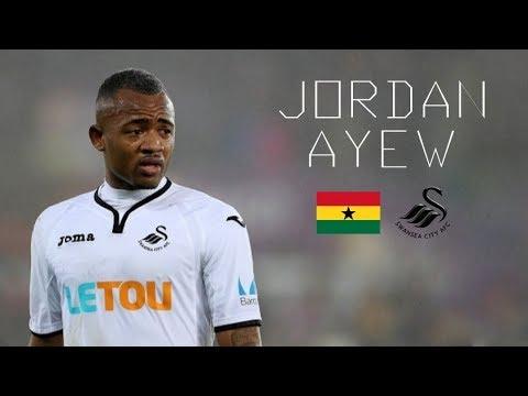 JORDAN AYEW - Insane Skills, Goals, Runs, Assists - Swansea City - 2017/2018