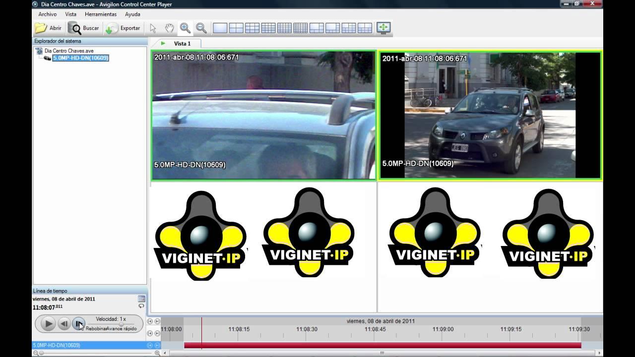 tutorial viginetip domo vs cámara fija de alta definición youtube