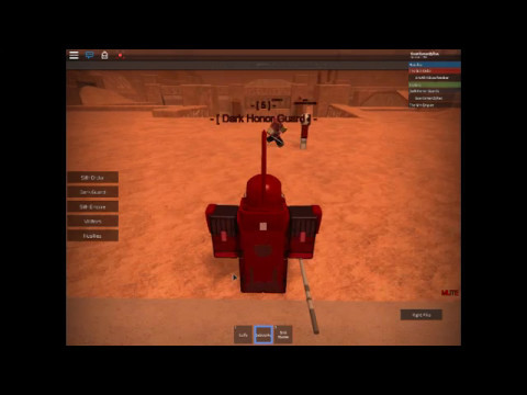 Dark Honor Guard Arresting By Surge - red guard training place on korriban roblox