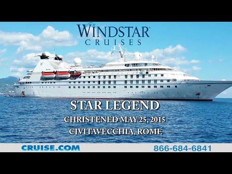 Windstar Cruises - Star Legend Christening Ceremony