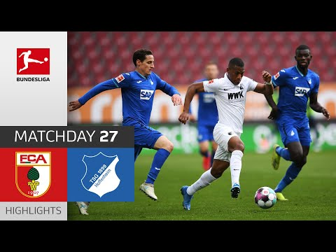 Augsburg Hoffenheim Goals And Highlights