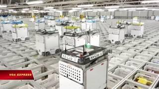 Khi robot 'xâm chiếm' cửa hàng tạp hoá (VOA)