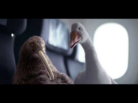Air New Zealand's Dave and Pete