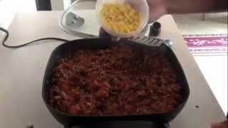 Three Bean Turkey & Sweet Sausage Chili