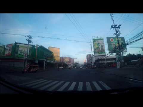 Cagayan de Oro City  - Driving from Gusa to Bulua
