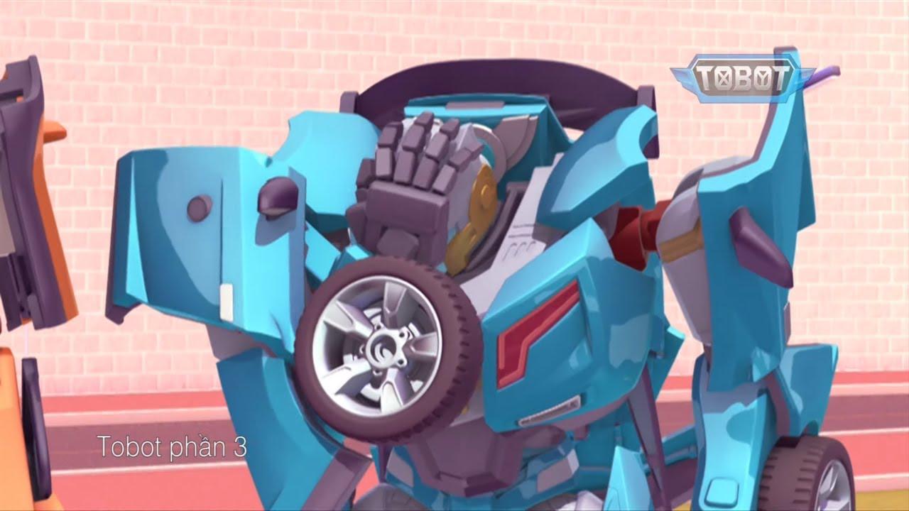 Oc Robot ket xe  -306 | Tobot Trong tiếng Việt | Phim hoạt hình
