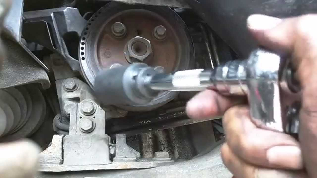 volvo d5 timing cam belt replacement youtube