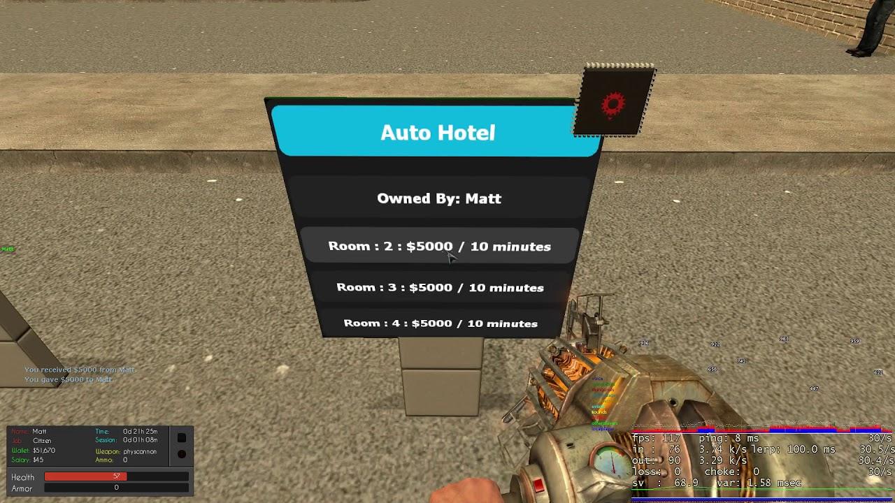 [Gmod] [E2] [Release] Automatic Hotel